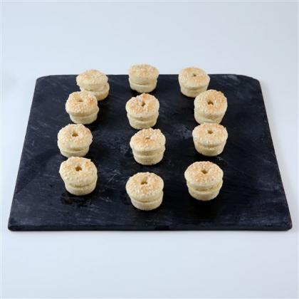 minis bagels au saumon fumé
