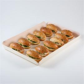 minis sandwichs au saumon fumé