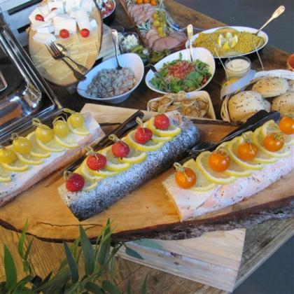 saumon façon bellevue