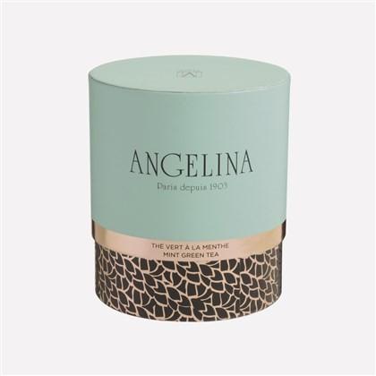 thé vert à la menthe Angelina